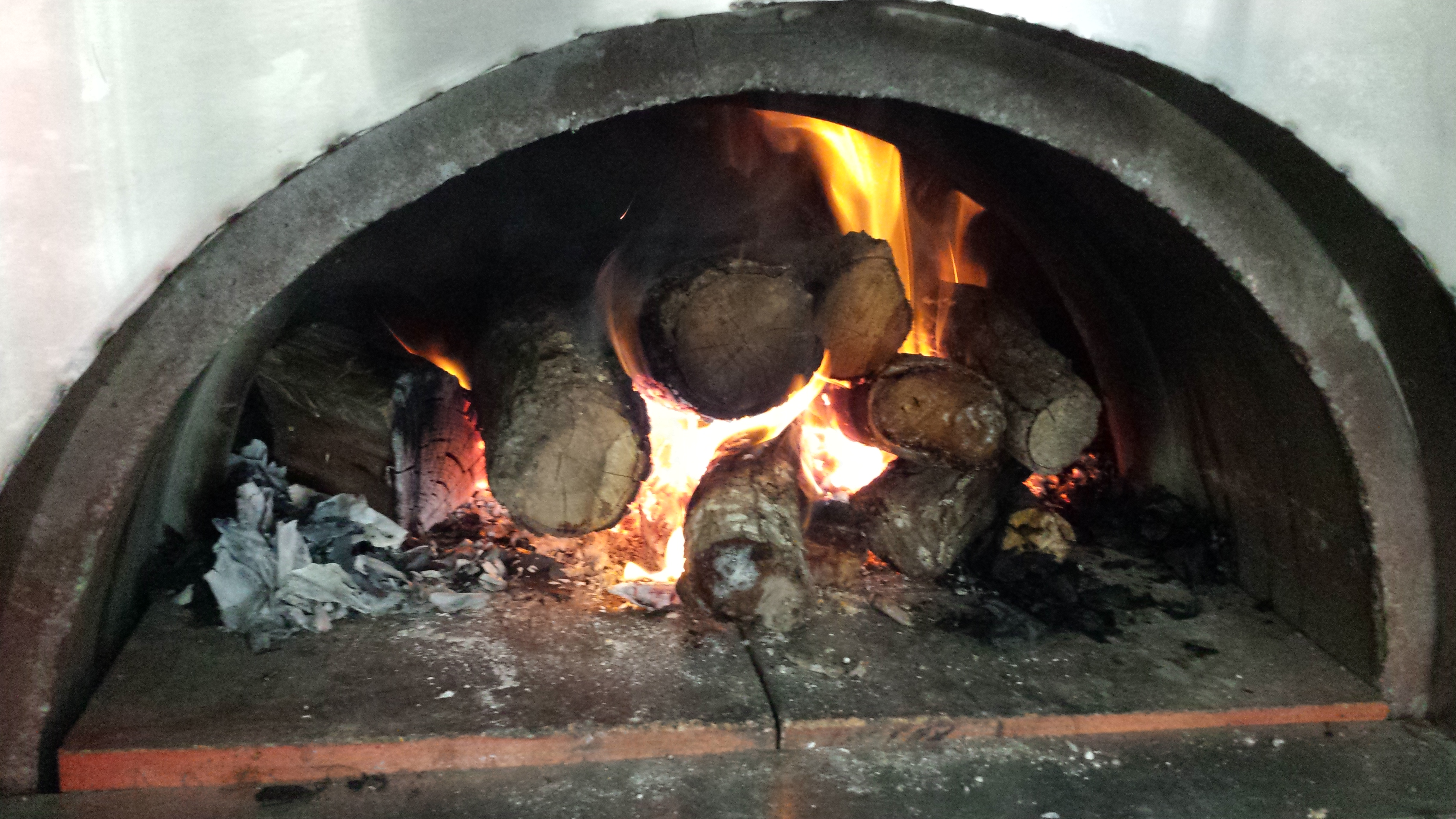Central Texas Phoenix Brick Oven Pizza Fire